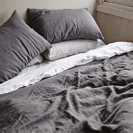 In bed charcoal bed